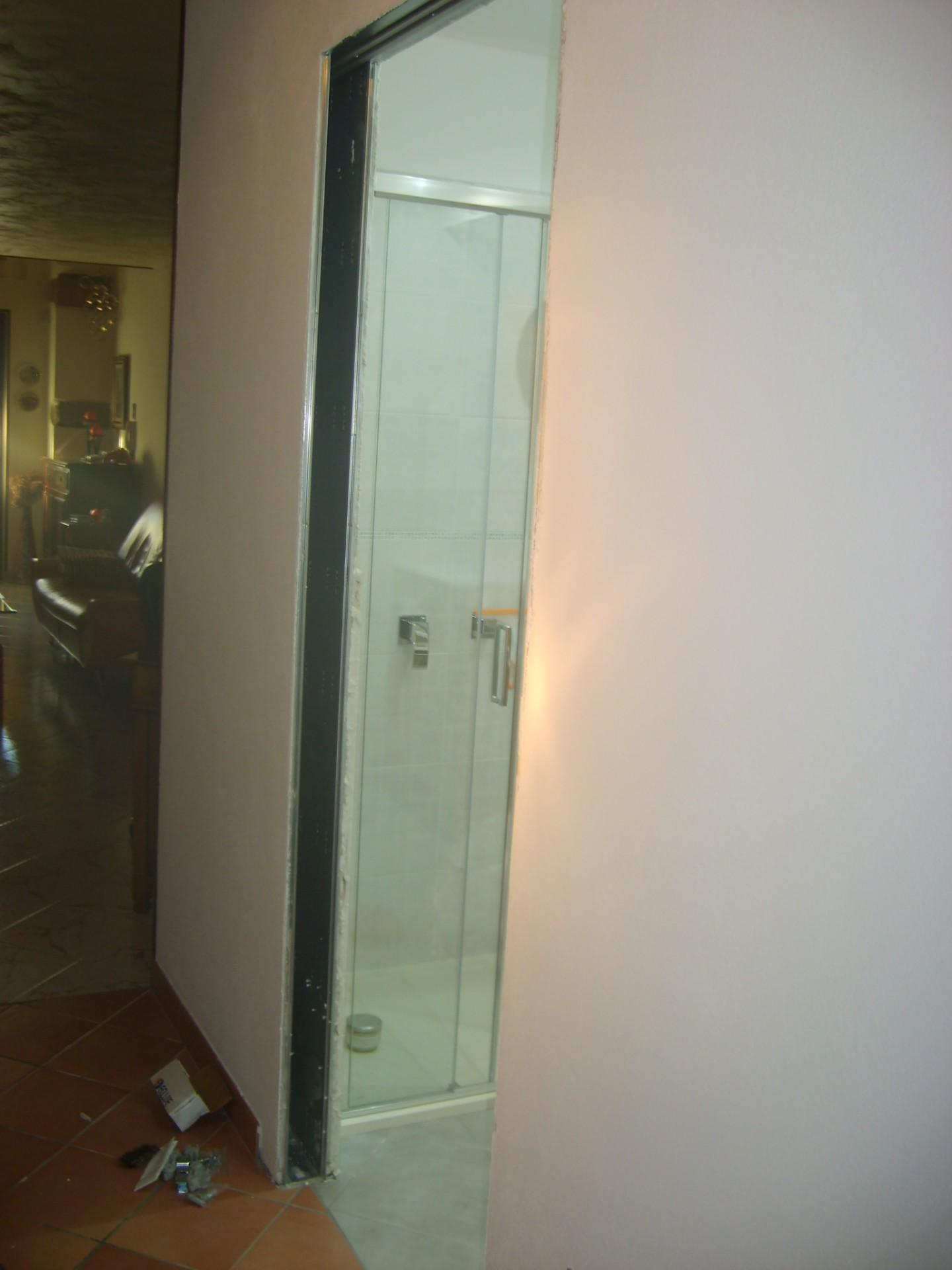 Porta scorrevole interno ed esterno muro infix - Porta scorrevole esterno ...