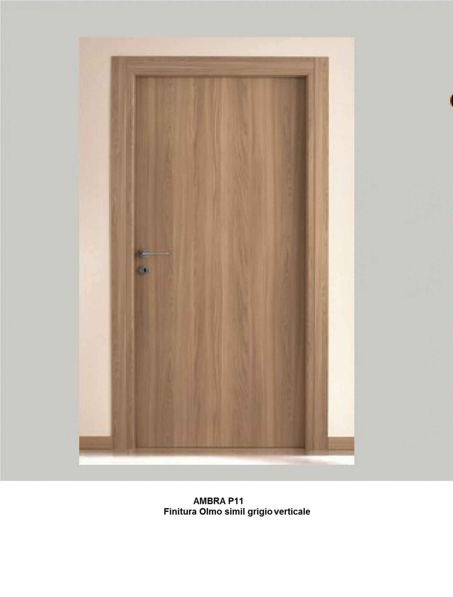 Porte Rovere Sbiancato Spazzolato porta interna in laminato | infix