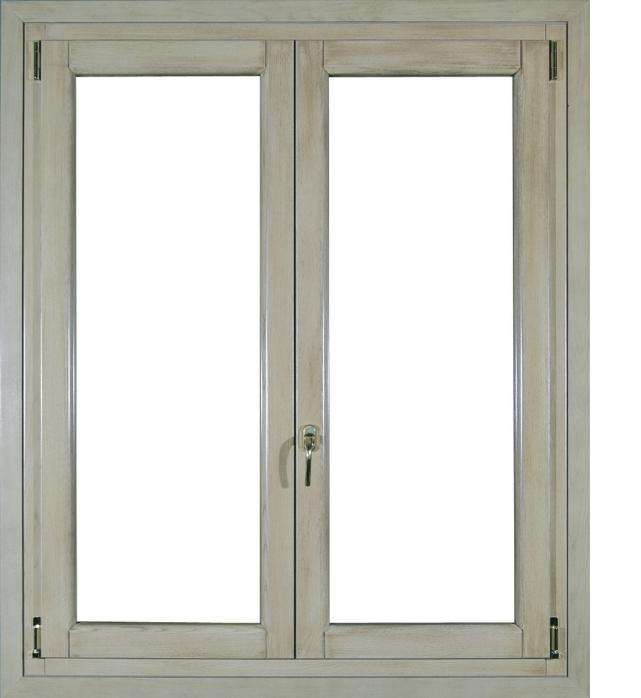 Serramento finestra legno alluminio infix - Porta finestra in alluminio ...