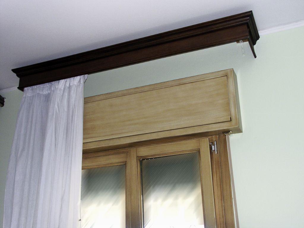 Serramento in legno sezione 68x80 infix for Legno laccato