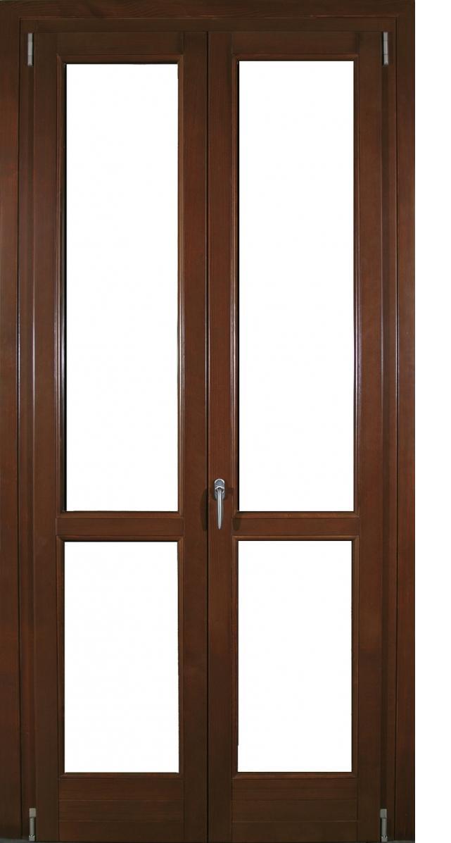 Porta finestra legno alluminio con traverso intermedio infix - Porta finestra legno ...