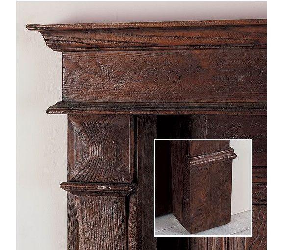 Porte interne in legno Castagno antico modello Tancredi  INFIX