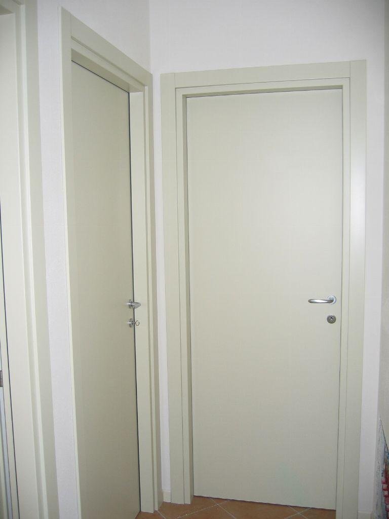 Porte interne liscie laccate avorio infix - Porte da interni ...