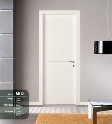 Porta interna medusa art m 112 omega infix - Porte interne in pvc prezzi ...