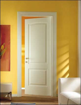 Porte interne laccate ral 1013 pantografata infix - Porte interne in pvc prezzi ...
