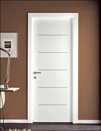 Porta interna laccata modello venus 396 ral 9016 infix for Infix serramenti e porte