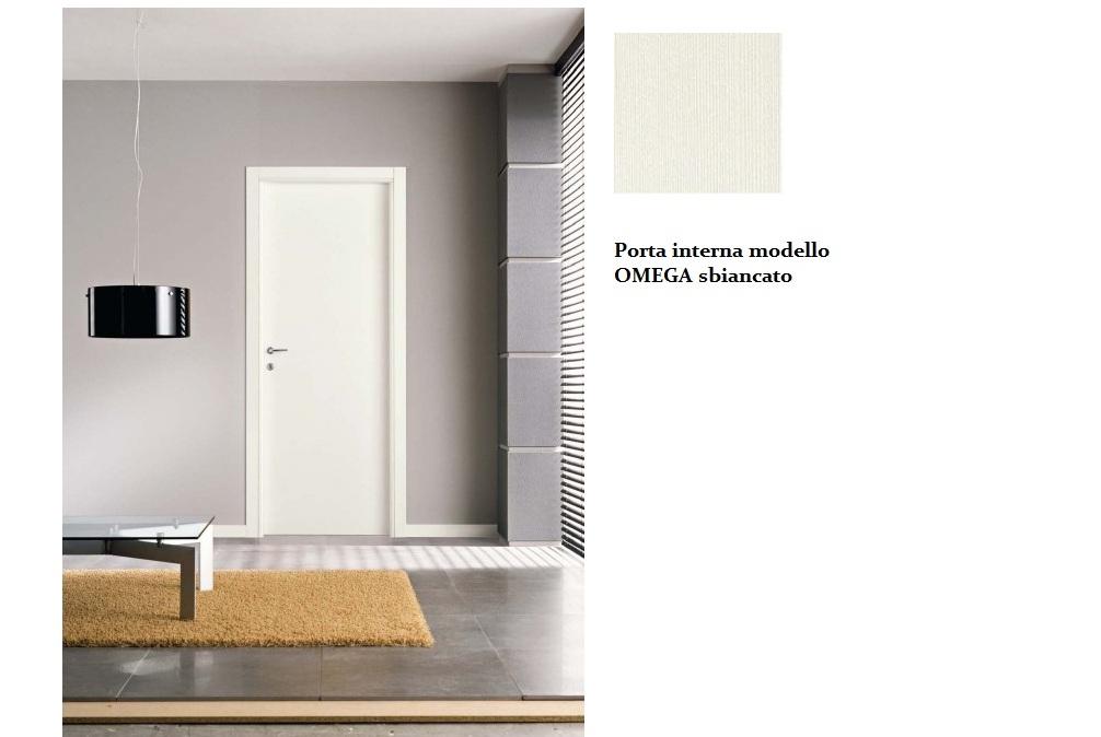 Porta interna bianco spazzolato infix for Infix serramenti e porte