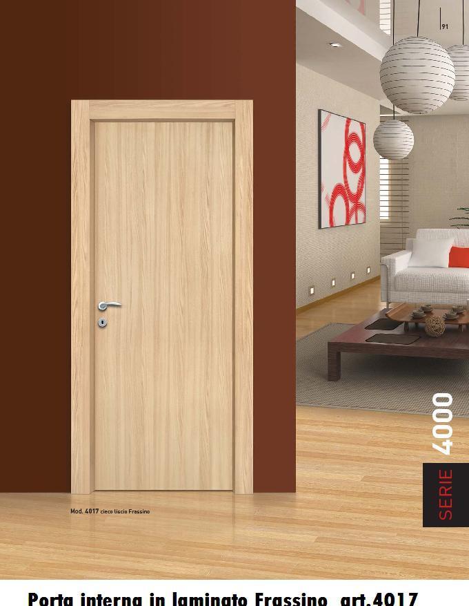 Porte interne in laminato con cornice complanare | INFIX