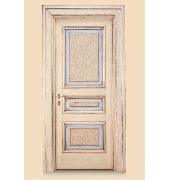 Porte interne in legno massello modello c di marcovaldo 1025 qq d infix - Porta in legno massello ...