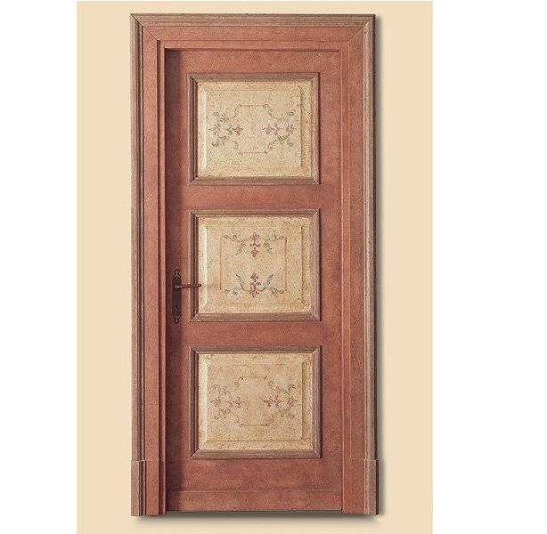 Porte interne in legno massello modello Carracci 2016/QQ/D-24 | INFIX