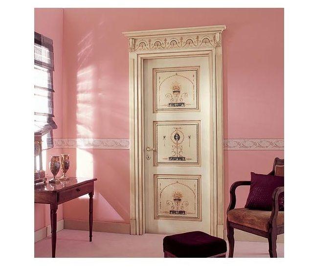 Porte interne in legno massello modello pompeiana d 9 infix - Modelli porte interne legno ...