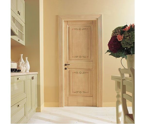 Casa moderna roma italy porte interne laccate - Modelli porte interne legno ...