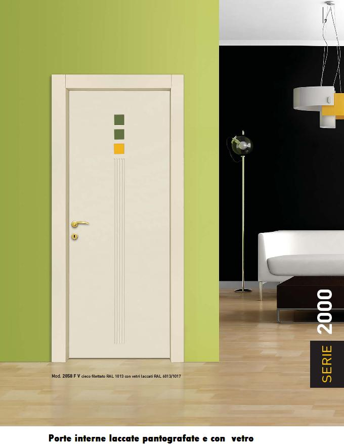 Porte interne laccate pantografate infix - Porte laccate o laminate ...