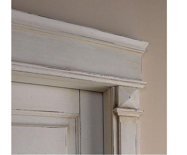 Porte interne in legno massello modello ducale 1112 q infix - Telaio porta interna ...
