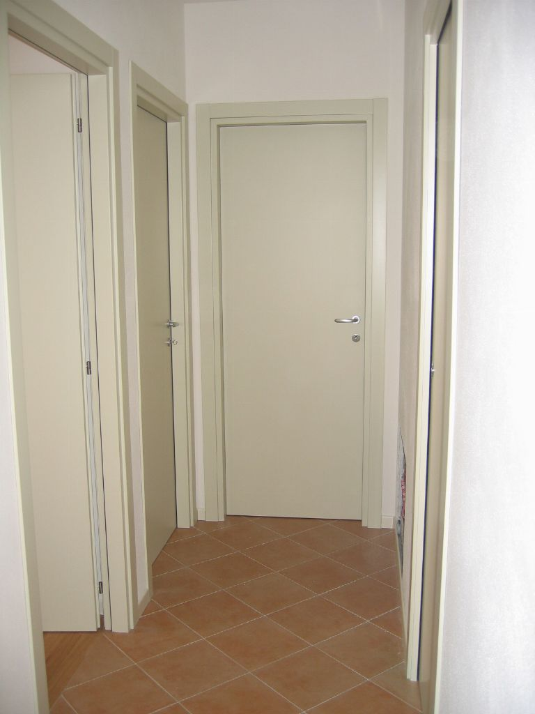 Porte interne liscie laccate avorio infix - Porte laccate avorio ...