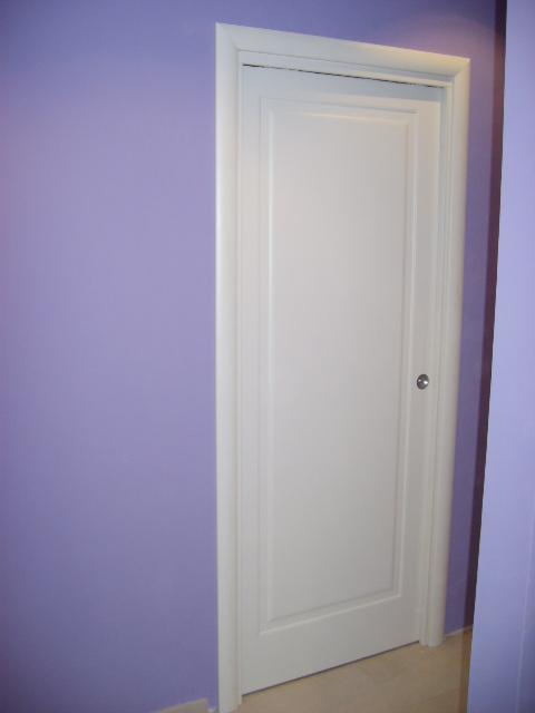 Porte interne pantografate laccato bianco infix - Porta garage scorrevole ...
