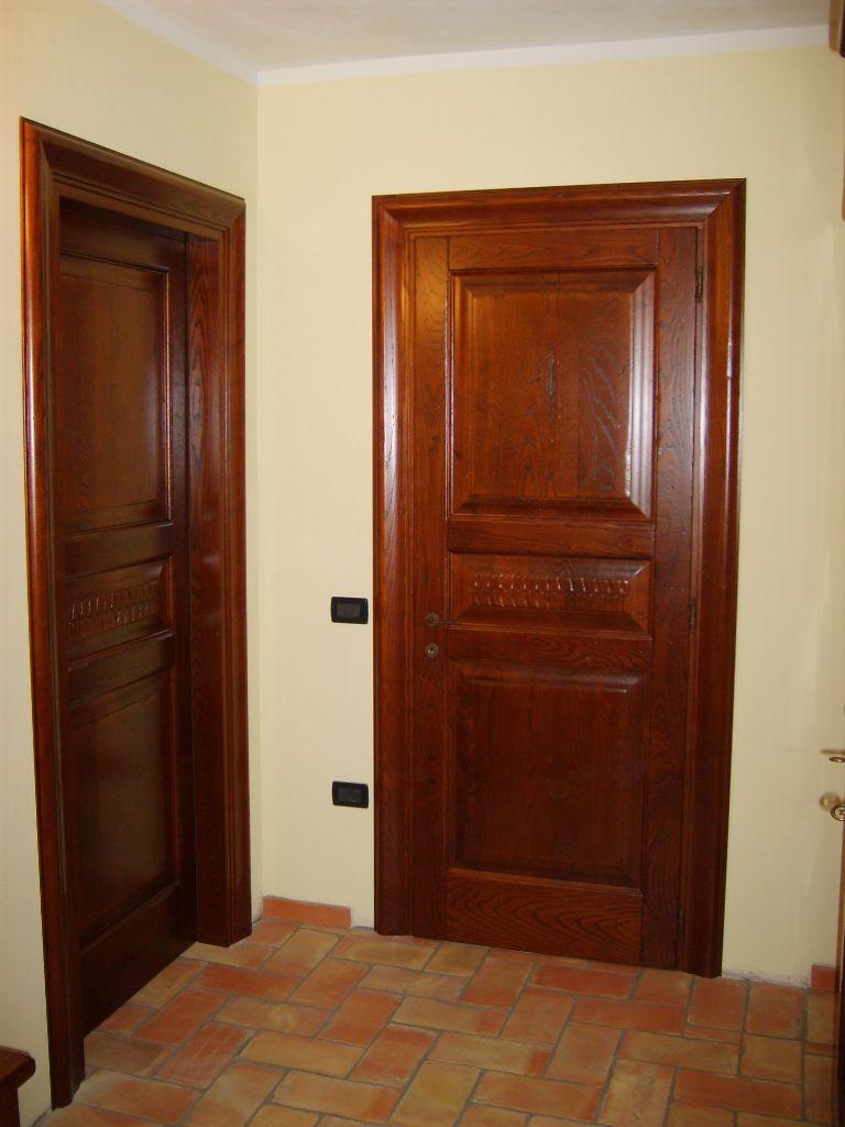 Porta interna in legno Castagno modello Botticelli  INFIX