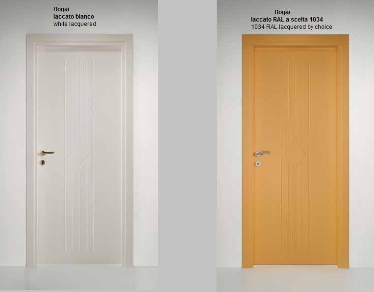 Porte interne laccate pantografate infix - Colori per porte interne ...
