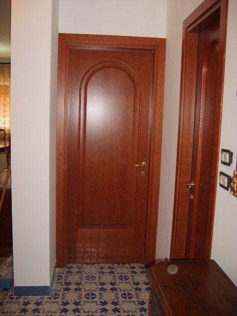 Porte interne con pannello arcato in ciliegio infix - Porte ad arco ...