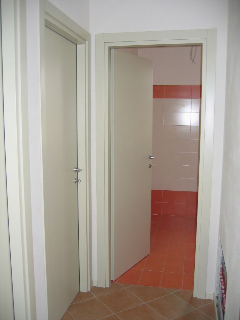 Porte Interne Liscie Laccate Avorio Infix Pictures to pin ...