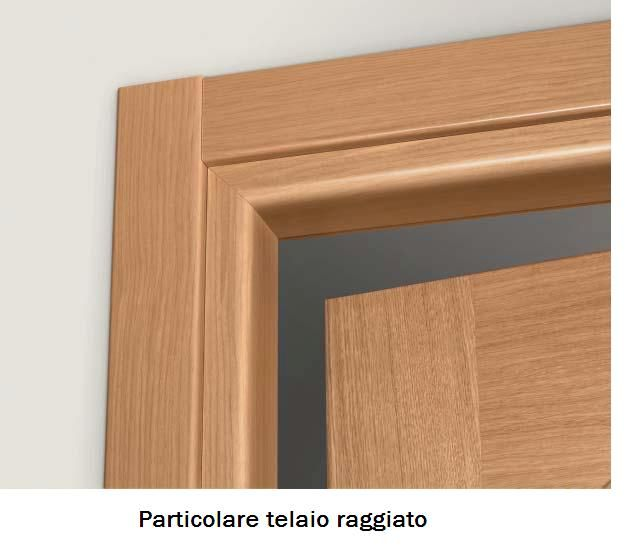 Porta interna laccato grigio con dogai ral 7006 infix for Telaio porta