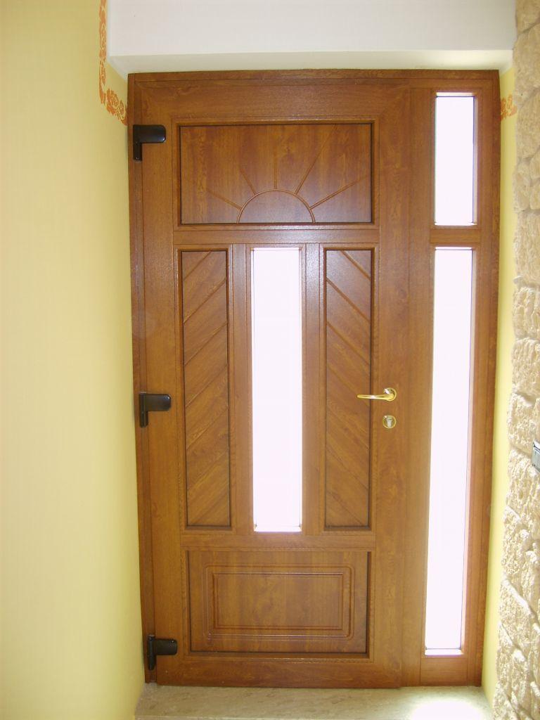 Sostituzione porta entrata in legno con nuovo portoncino blindato ...