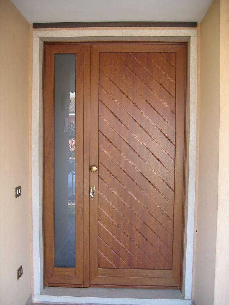 Portoncino entrata pvc infix - Portoncini ingresso legno alluminio prezzi ...