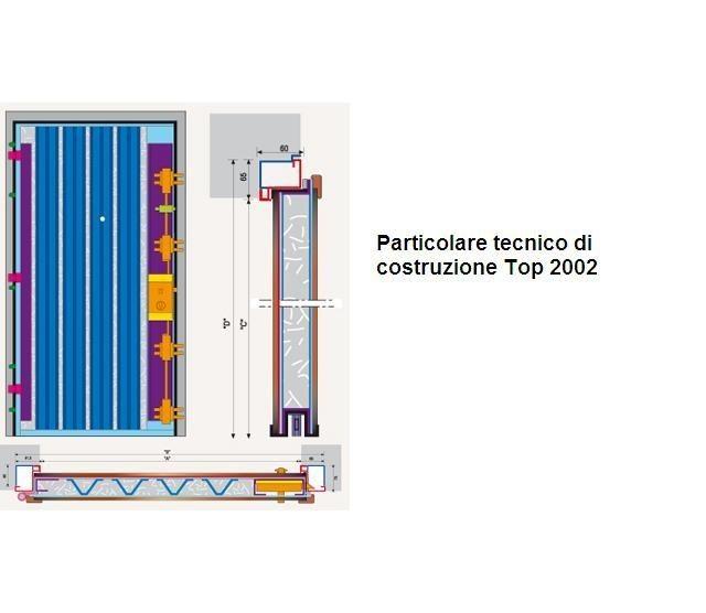 Porte blindate con lamiera in acciaio 20 10 accoppiata for Torterolo porte blindate scheda tecnica