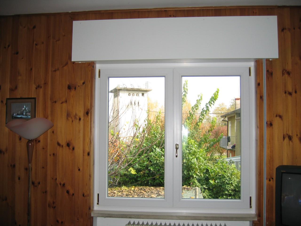 Serramenti in pvc con cassonetti in laminato infix - Tende finestre pvc ...