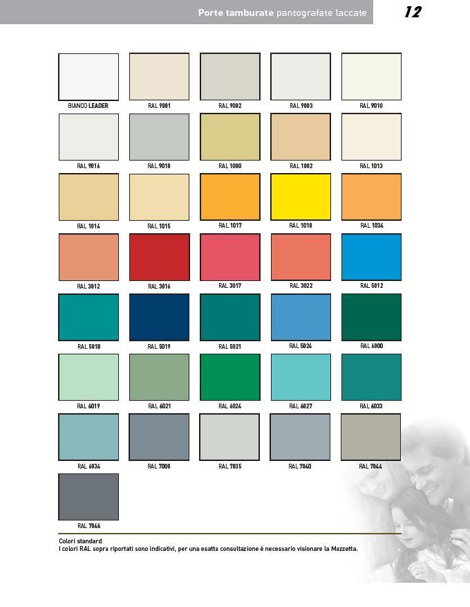 Porte interne laccate pantografate infix - Colori per porte ...