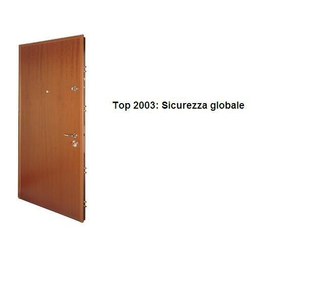 Porte blindate in classe di sicurezza 4 serie Top 2003