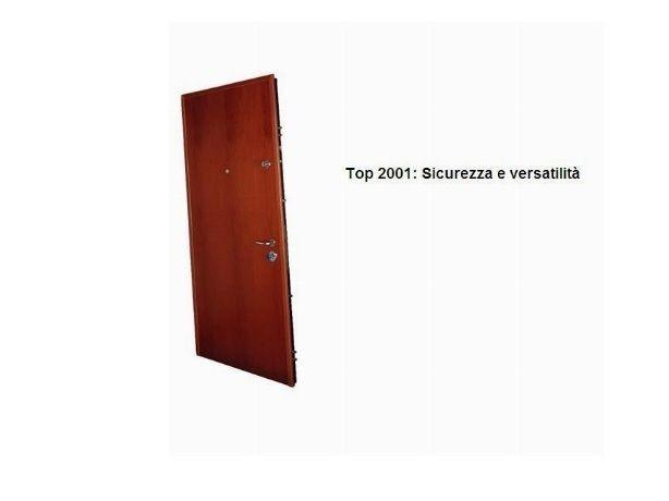 Porte blindate con sistema di masterizzazione di apertura modello Top 2001