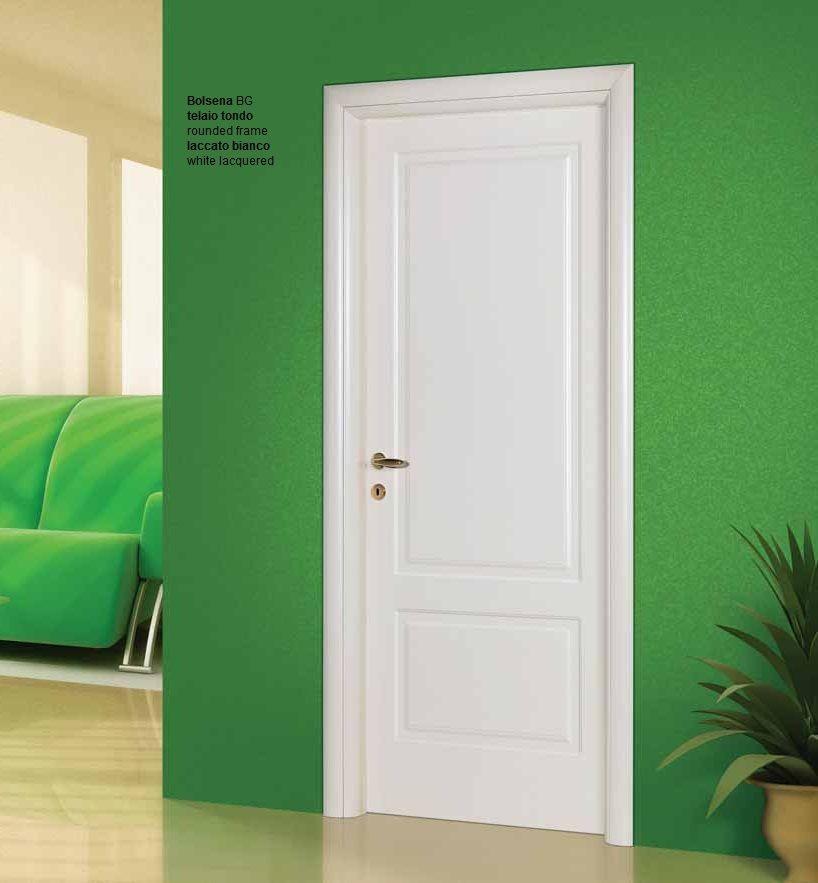 Porte Interne in legno, laccato e PVC