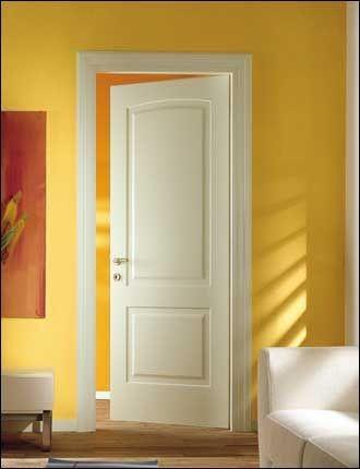 Porte interne laccate mod venus 1013 infix - Porte laccate avorio ...