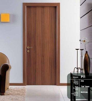 Porte interne pegaso zeta noce nazionale infix - Porte interne in pvc prezzi ...