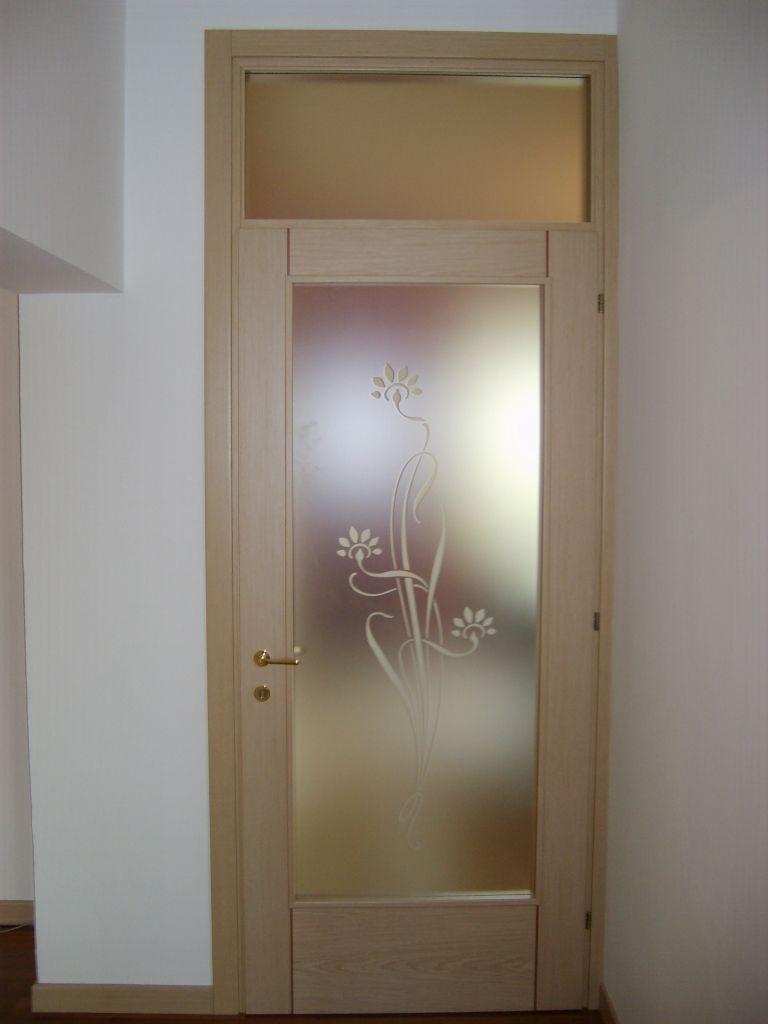 Porta interna in legno silver imago 43 i infix - Vetro porta interna ...