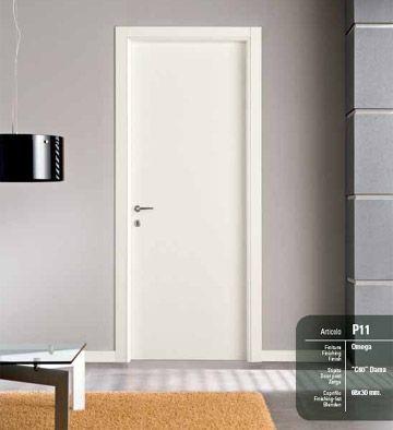 Porte interne omega mod pegaso infix - Porta bianca laminato ...