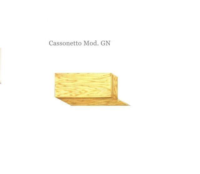 Cassonetto in legno mod. GN