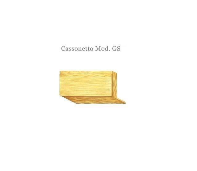 Cassonetto in legno mod. GS