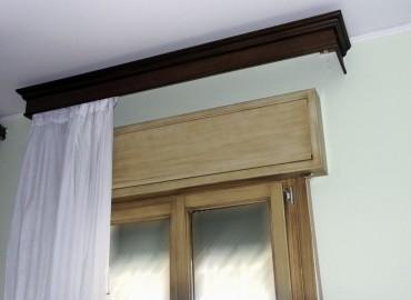 Serramento in legno  (sezione 68x80 )