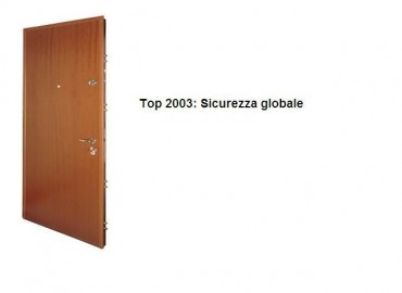 Porte blindate in classe di sicurezza 4 serie Top 2003