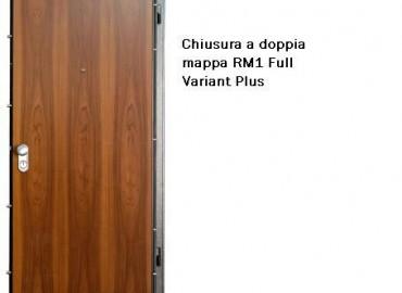 Porte blindate base con chiusura standard modello RM1 full Variant Plus