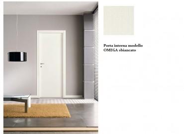 Porta interna Bianco spazzolato