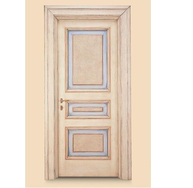 Porte interne in legno massello modello c di marcovaldo - Decorazioni su porte interne ...