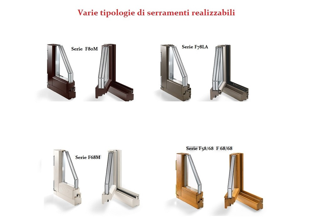 Infissi e serramenti legno alluminio