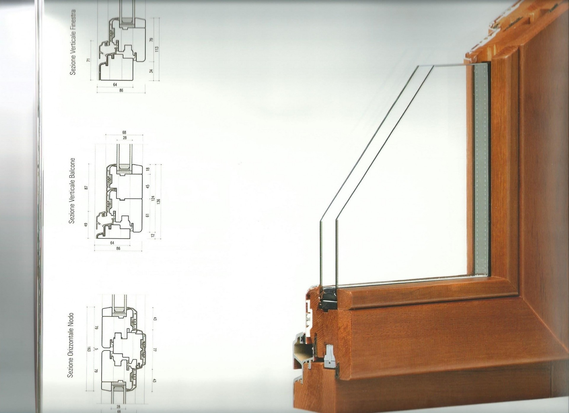 Serramenti in legno, PVC e legno/alluminio